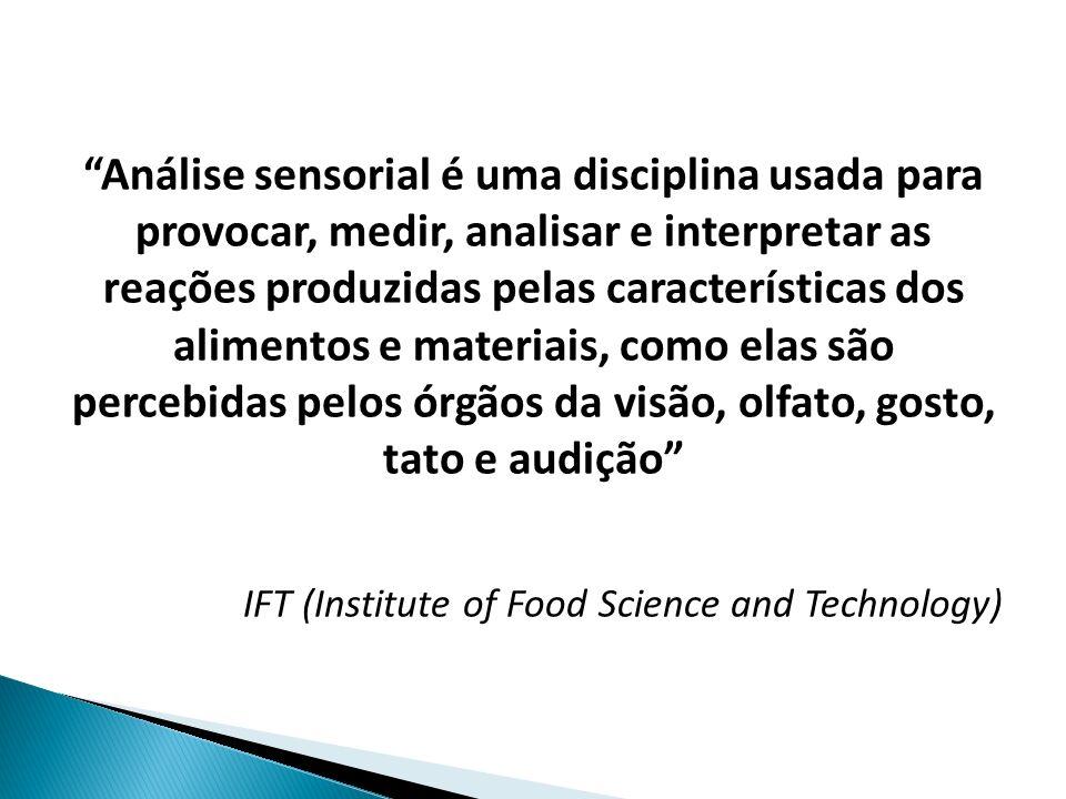 A indústria de alimentos sempre se preocupou com a qualidade sensorial de seus produtos, entretanto, os métodos utilizados para medi- la variaram em função do estágio de evolução tecnológica da indústria.