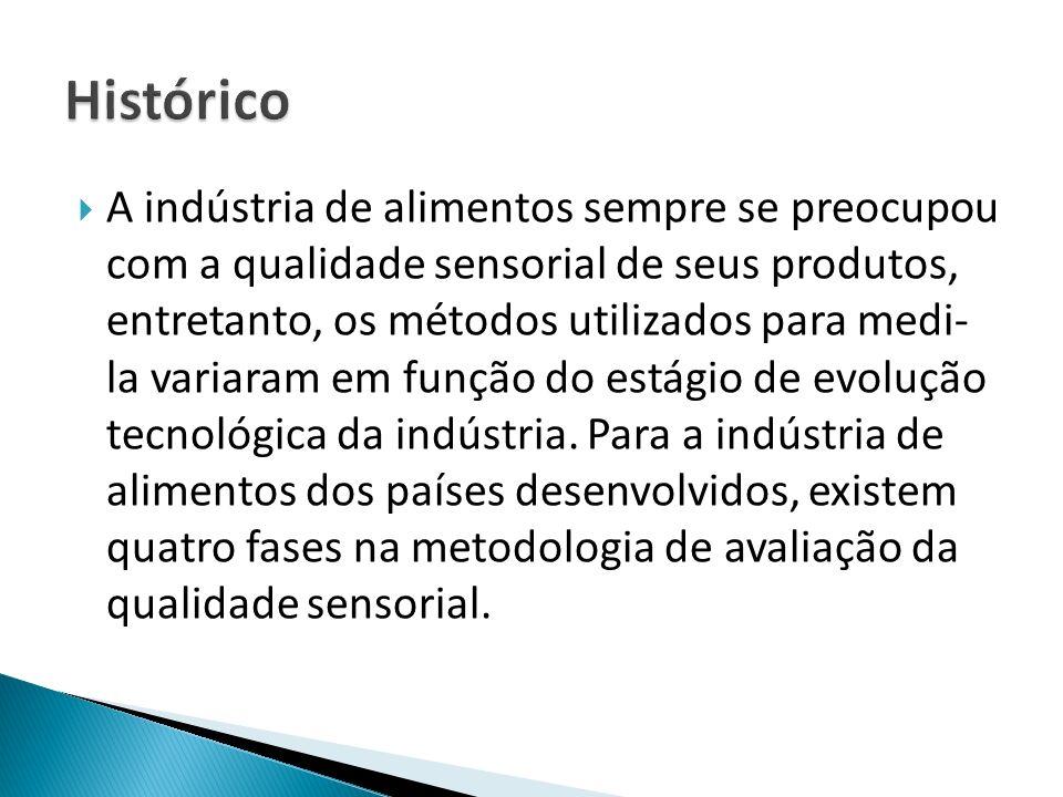 Época artesanal ou pré-científica da indústria de alimentos, período onde a qualidade sensorial era determinada pelo dono ou encarregado da indústria.