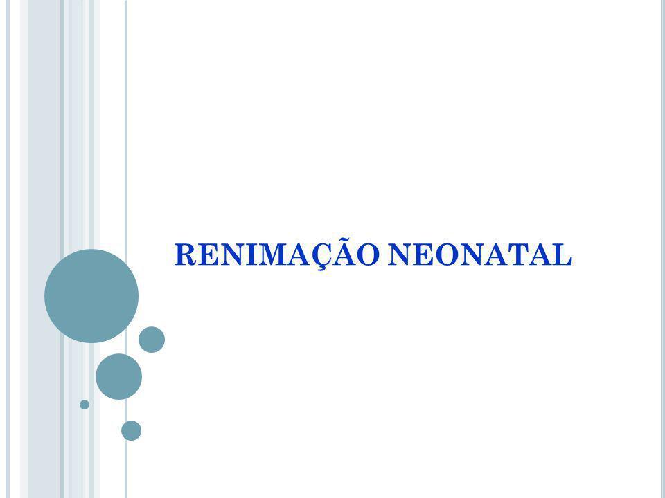 RENIMAÇÃO NEONATAL
