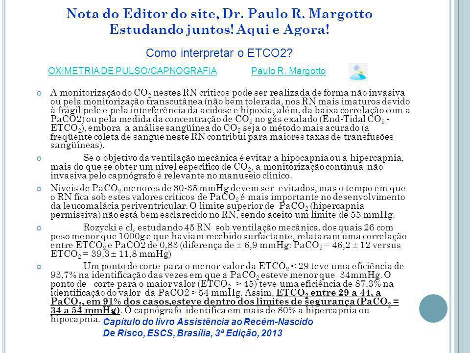 Nota do Editor do site, Dr.Paulo R. Margotto Estudando juntos.