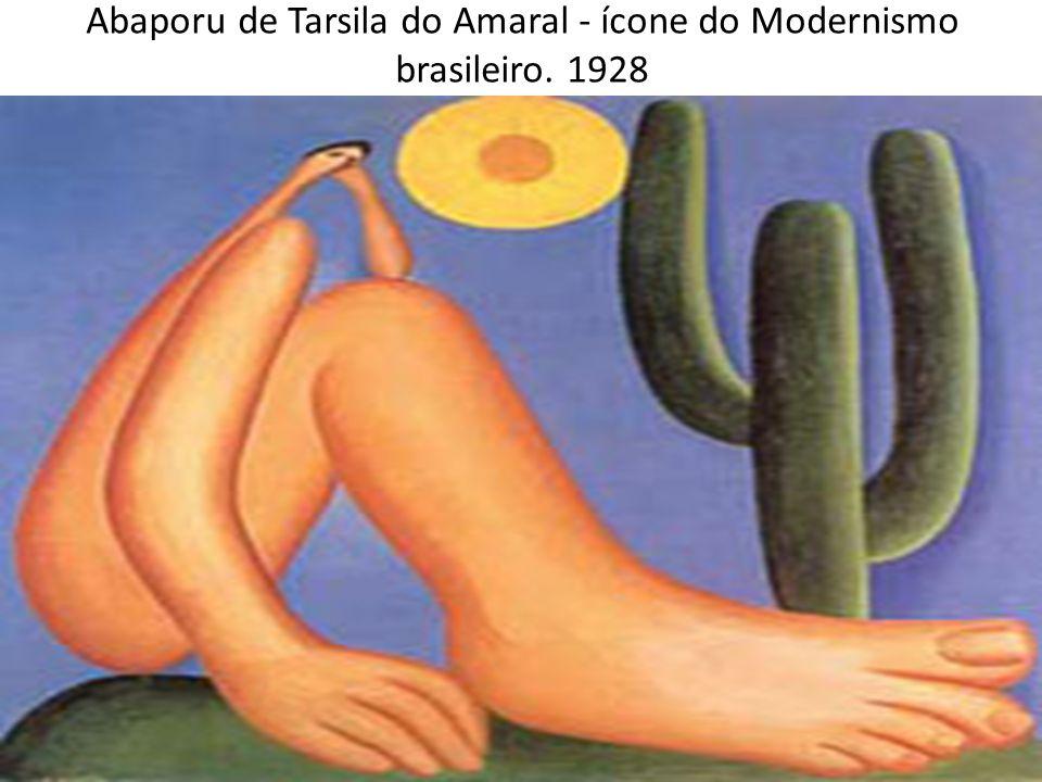 Abaporu de Tarsila do Amaral - ícone do Modernismo brasileiro. 1928