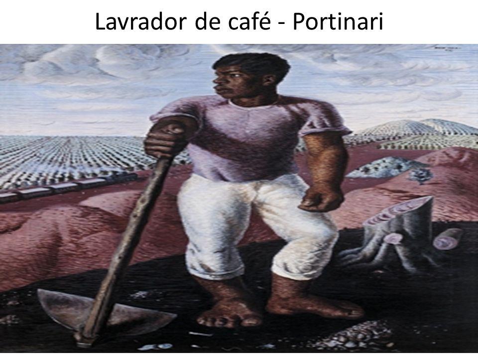 Lavrador de café - Portinari