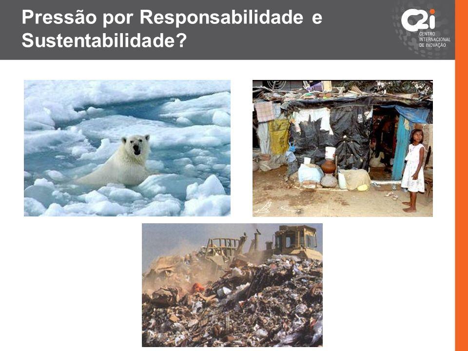 Pressão por Responsabilidade e Sustentabilidade?