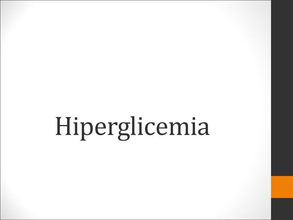 Hiperglicemia