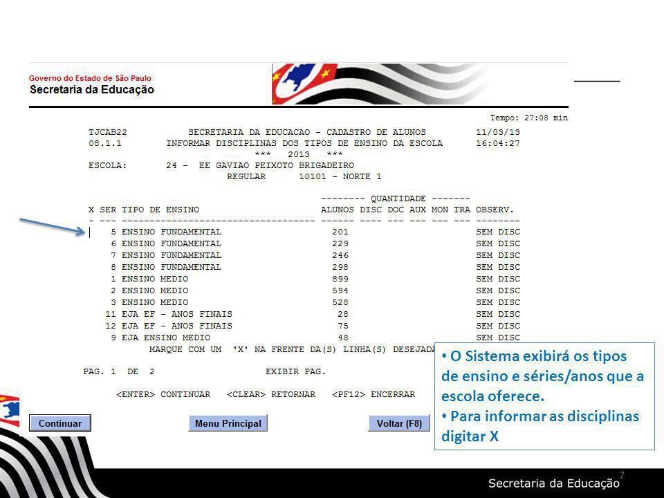 INFORMAÇÕES ADICIONAIS SERÃO ENVIADAS POR COMUNICADOS OBRIGADA neivagarrrido@edunet.sp.gov.br 28