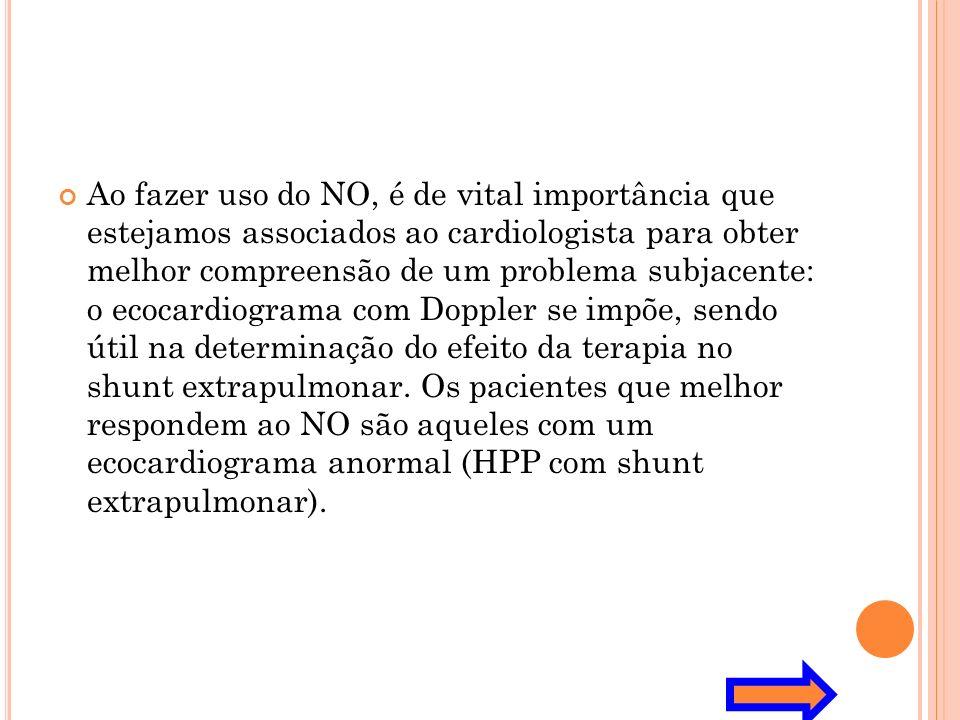Ao fazer uso do NO, é de vital importância que estejamos associados ao cardiologista para obter melhor compreensão de um problema subjacente: o ecocar