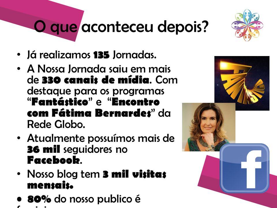 Renata Quintella Renata Quintella é uma facilitadora da esperança que através de seu projeto A Nossa Jornada, se tornou exemplo de inovação social, pela mídia espontânea.