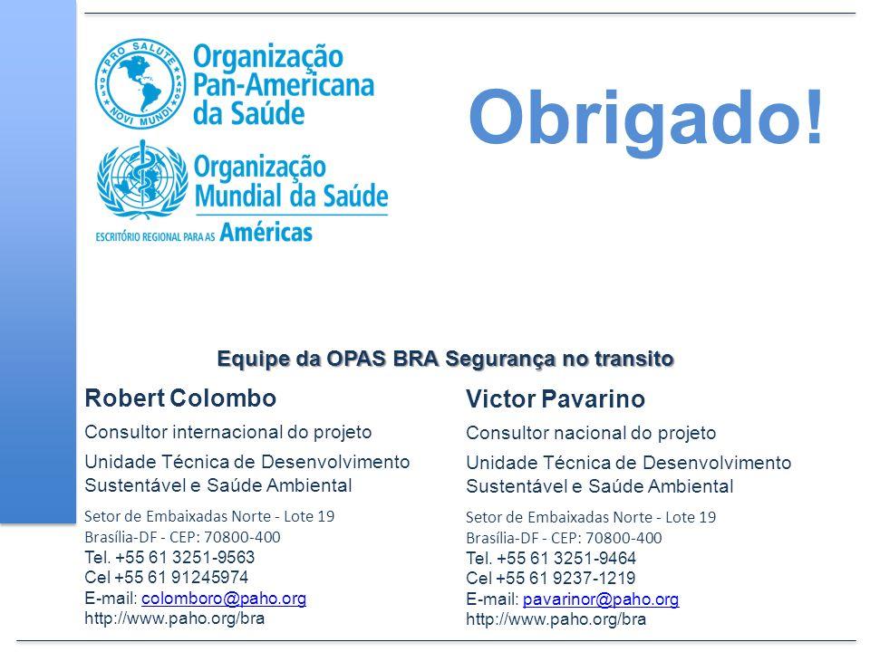 Victor Pavarino Consultor nacional do projeto Unidade Técnica de Desenvolvimento Sustentável e Saúde Ambiental Setor de Embaixadas Norte - Lote 19 Bra