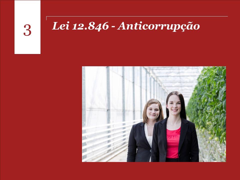 Pontos para o fechamento de 2013 Lei 12.846 - Anticorrupção 3