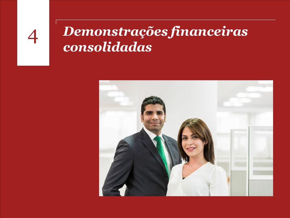 Pontos para o fechamento de 2013 Demonstrações financeiras consolidadas 4