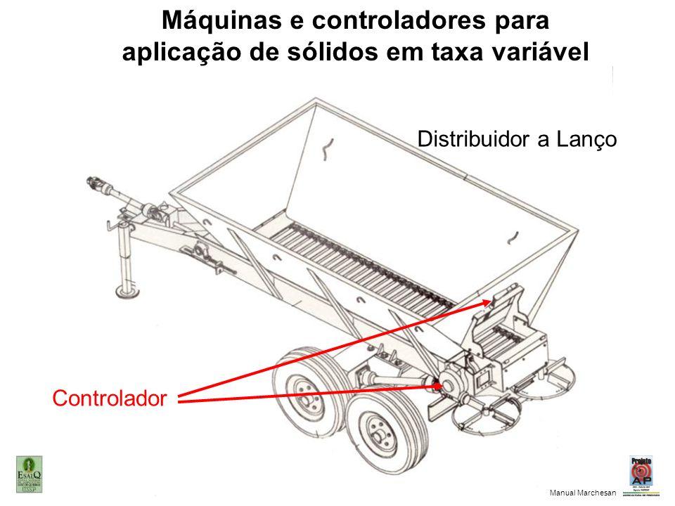Distribuidor a Lanço Controlador Máquinas e controladores para aplicação de sólidos em taxa variável Manual Marchesan