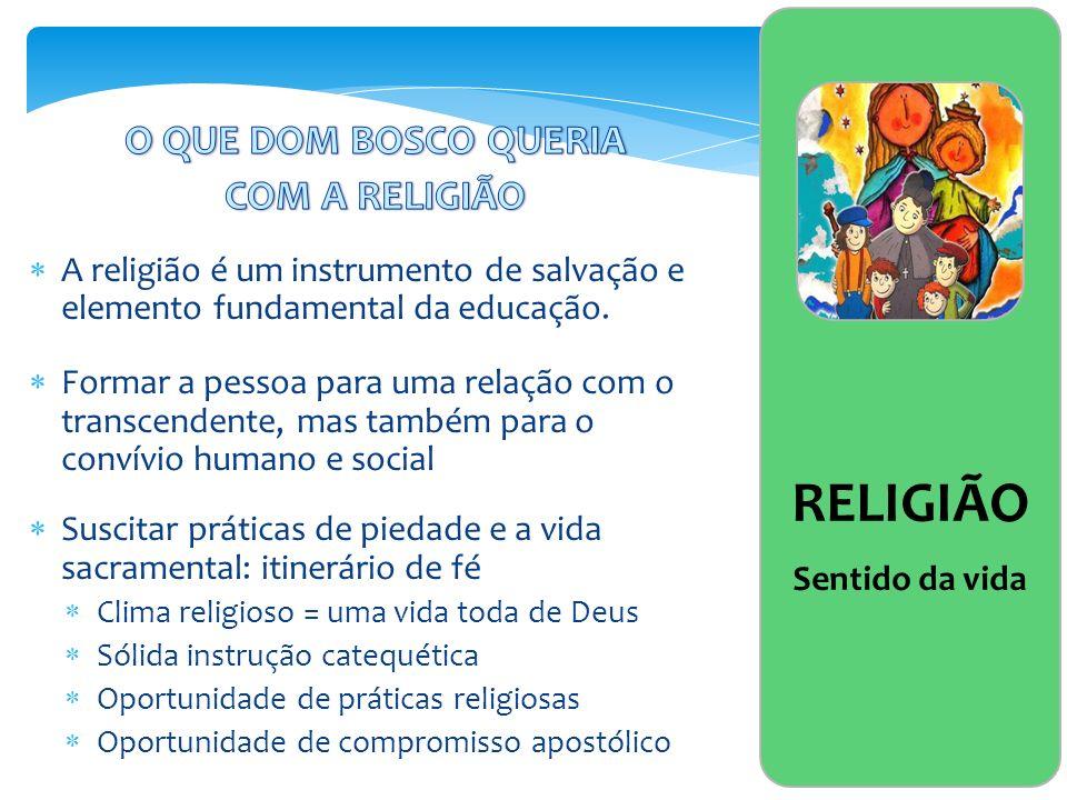 RELIGIÃO Sentido da vida