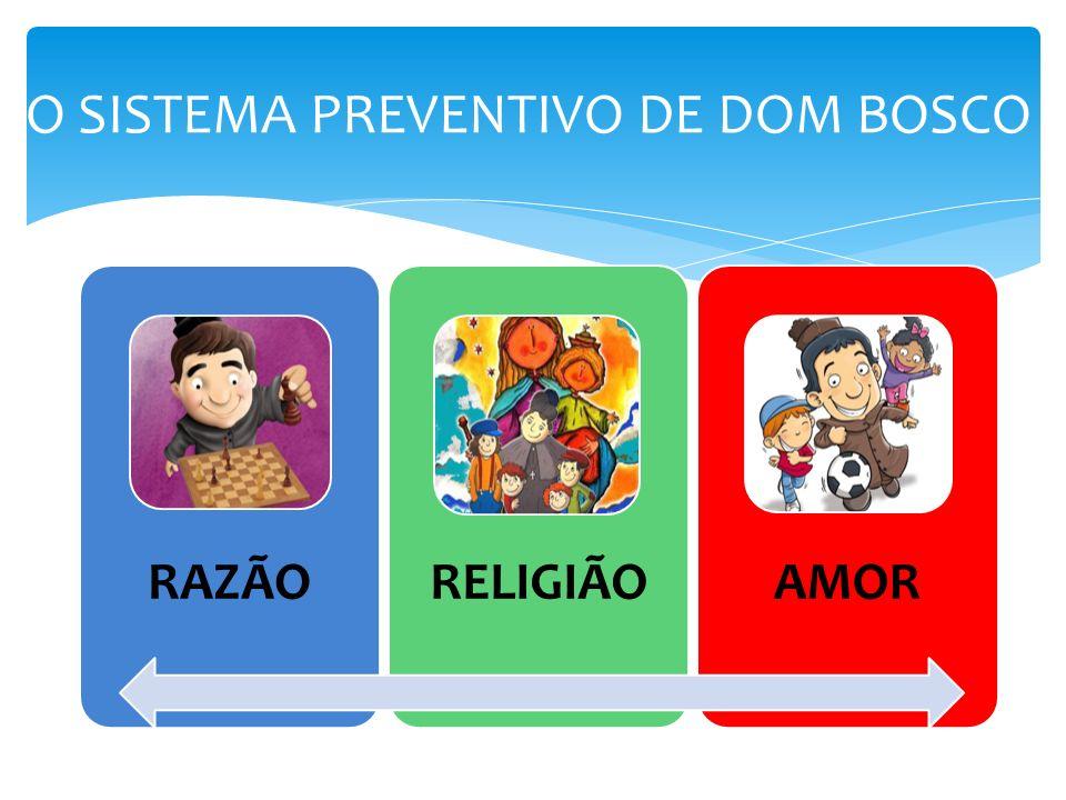O SISTEMA PREVENTIVO DE DOM BOSCO RAZÃORELIGIÃOAMOR