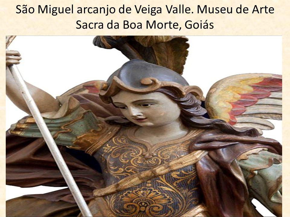 São Miguel arcanjo de Veiga Valle. Museu de Arte Sacra da Boa Morte, Goiás