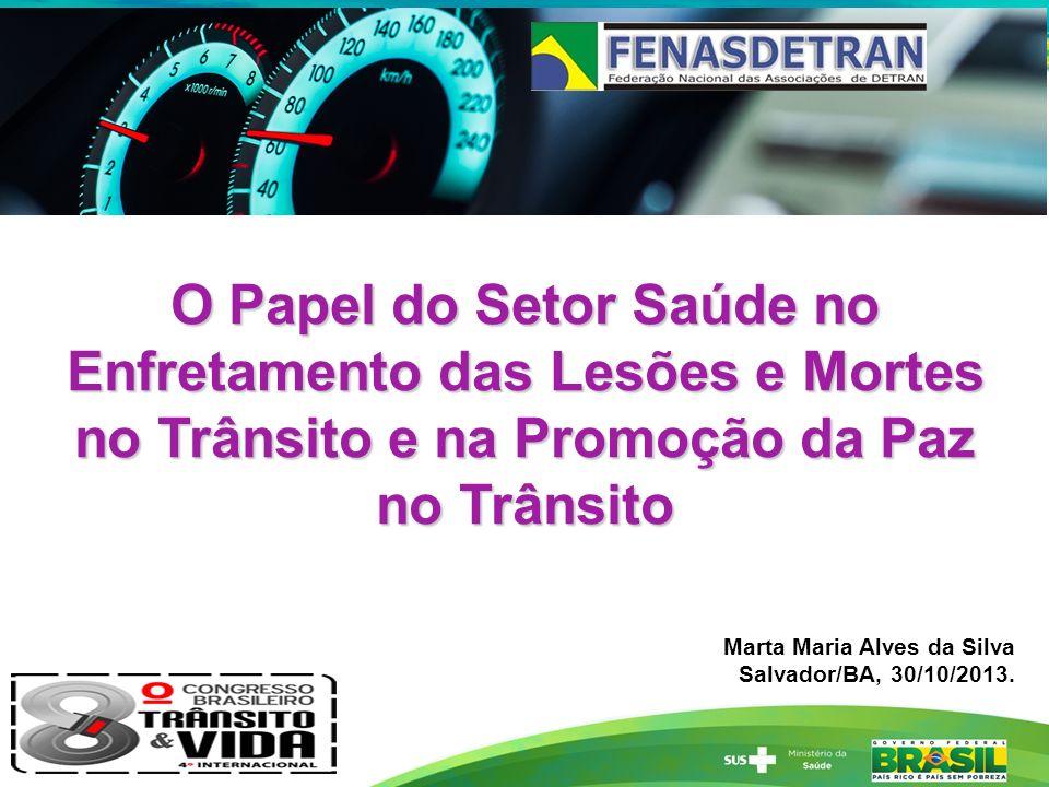 Número absoluto de mortes no trânsito, Capitais do PVT, 2011-2012.