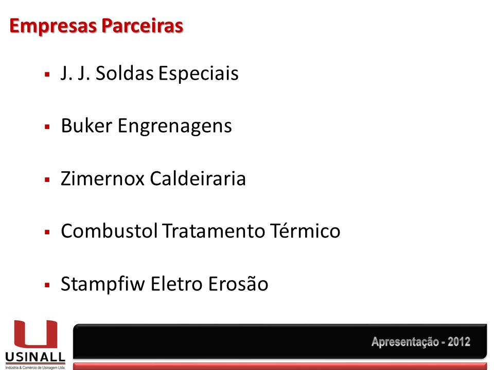 Empresas Parceiras J.J.