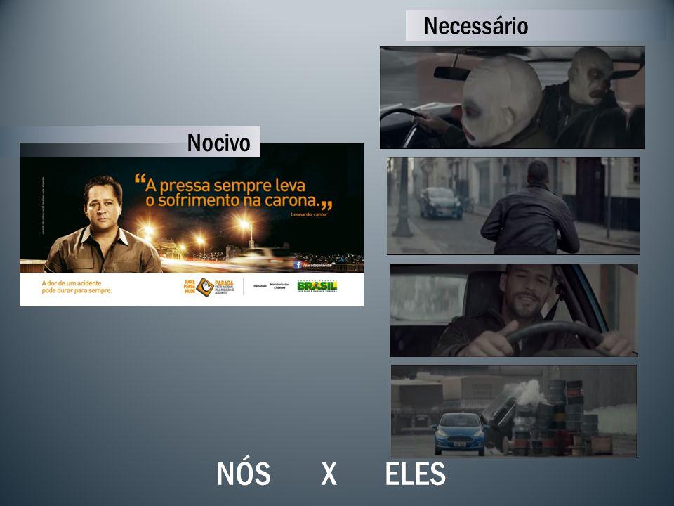 X Necessário ELESNÓS Nocivo