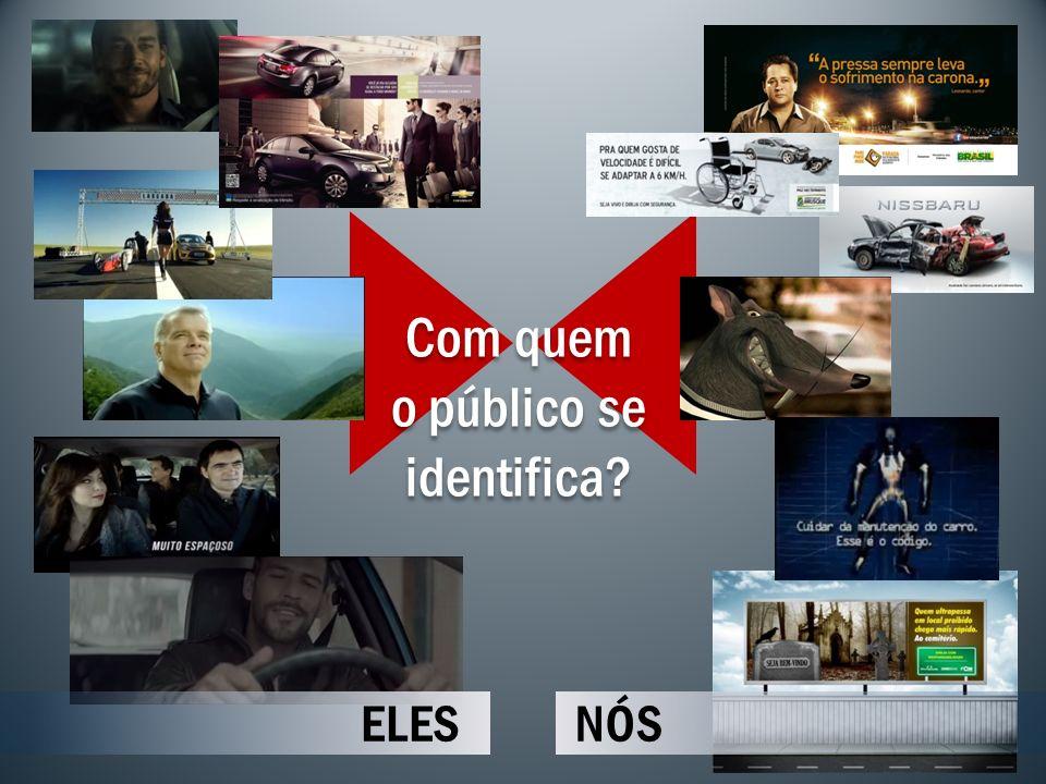 ELESNÓS Com quem o público se identifica? Com quem o público se identifica?