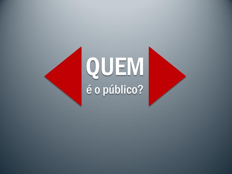 QUEM é o público? QUEM é o público?