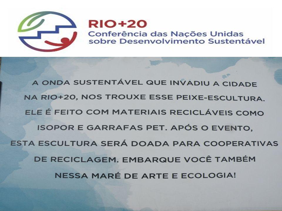 Sustentabilidade na Organização da Rio+20 RIO+20, SUSTENTABILIDADE, GEE RIO+20SUSTENTABILIDADEGEE Com o objetivo de garantir que a Rio+20 observe os pilares do desenvolvimento sustentável, o Governo brasileiro criou, no âmbito do Comitê Nacional de Organização, uma Coordenação de Sustentabilidade.