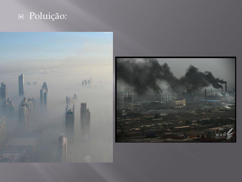 Poluição: