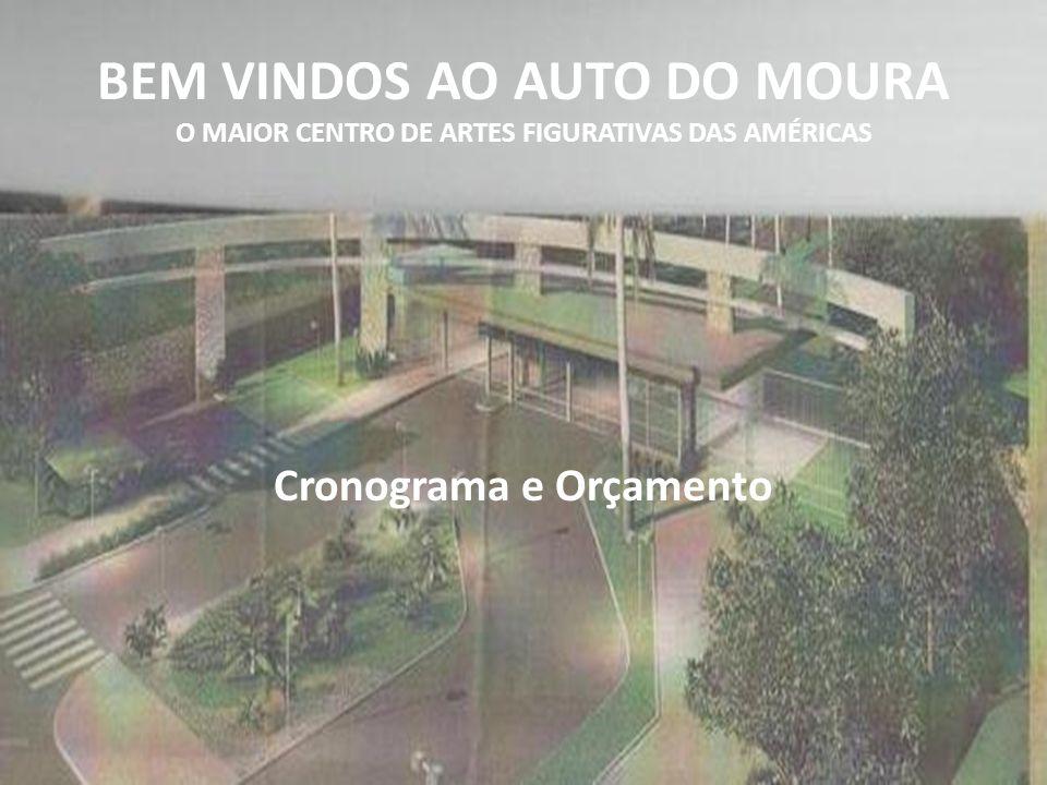 BEM VINDOS AO AUTO DO MOURA O MAIOR CENTRO DE ARTES FIGURATIVAS DAS AMÉRICAS Cronograma e Orçamento
