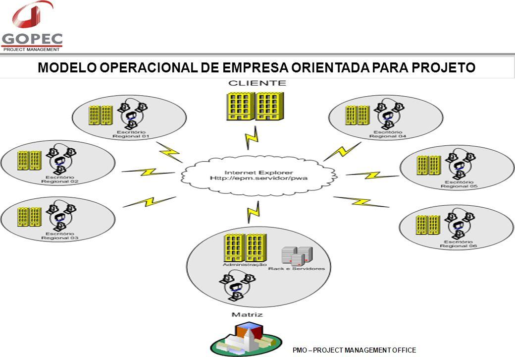 MODELO OPERACIONAL DE EMPRESA ORIENTADA PARA PROJETO