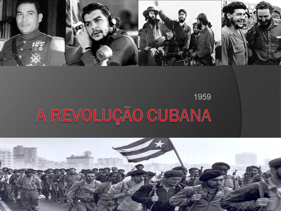 Rompimento com os EUA EUA suspendeu a importação do açúcar cubano.