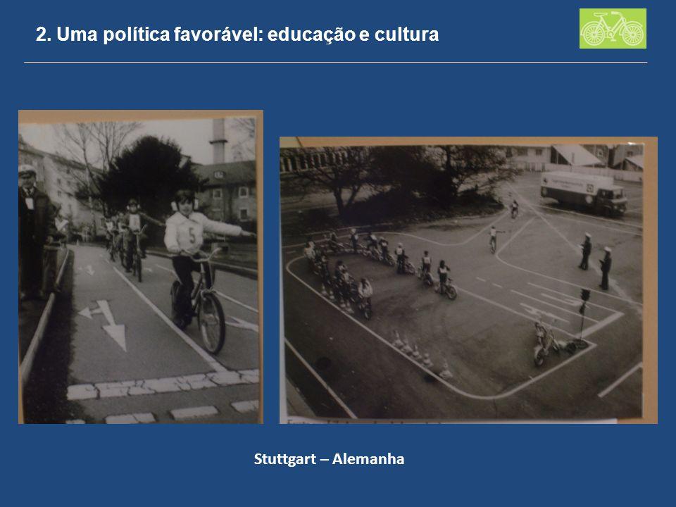 2. Uma política favorável: educação e cultura Stuttgart – Alemanha