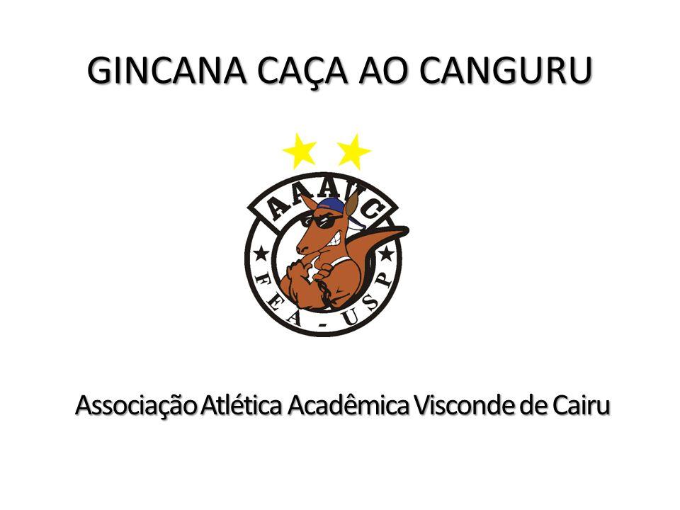 GINCANA CAÇA AO CANGURU Associação Atlética Acadêmica Visconde de Cairu