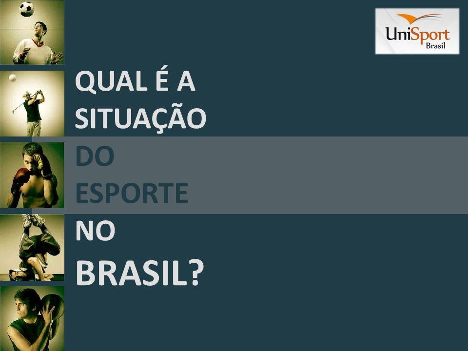 Somos uma nação de quase 200 MILHÕES de habitantes O brasileiro já demonstrou que gosta do esporte e TEM TALENTO Na última Olimpíada ganhamos 17 MEDALHAS