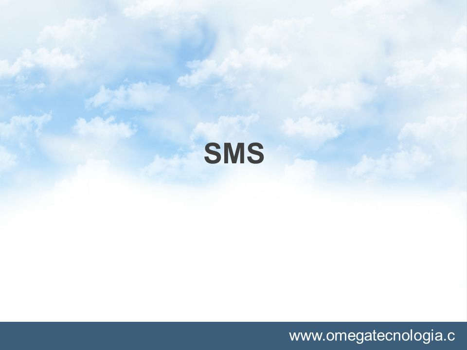 www.omegatecnologia.c om SMS
