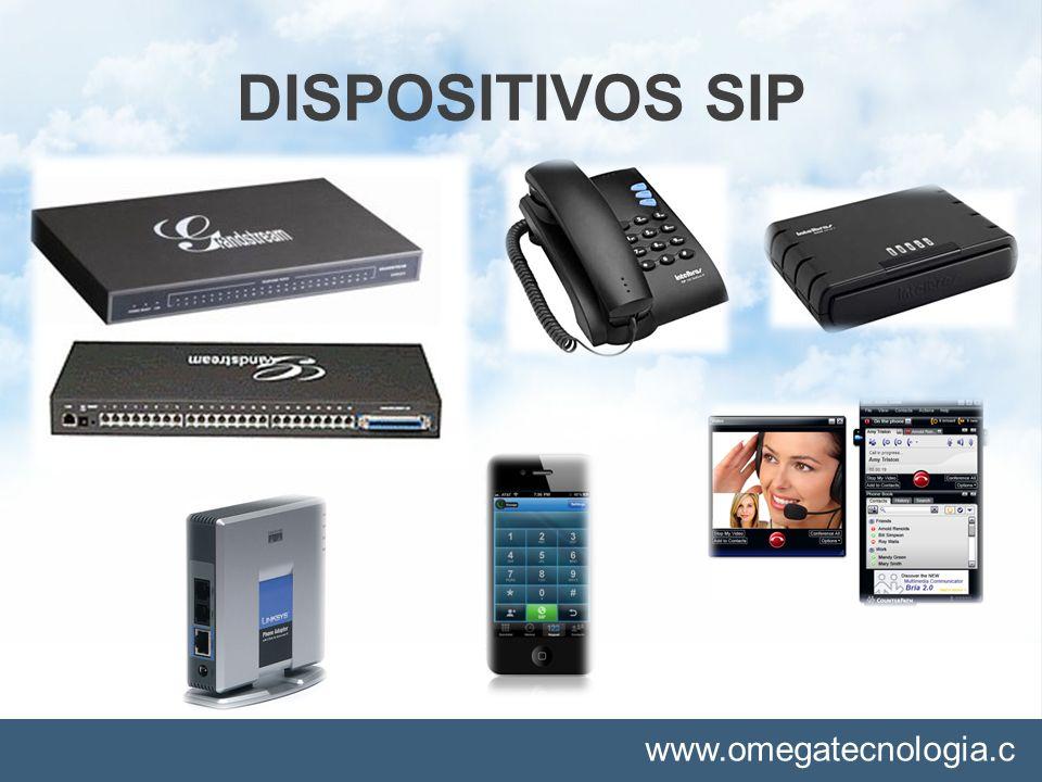 www.omegatecnologia.c om DISPOSITIVOS SIP