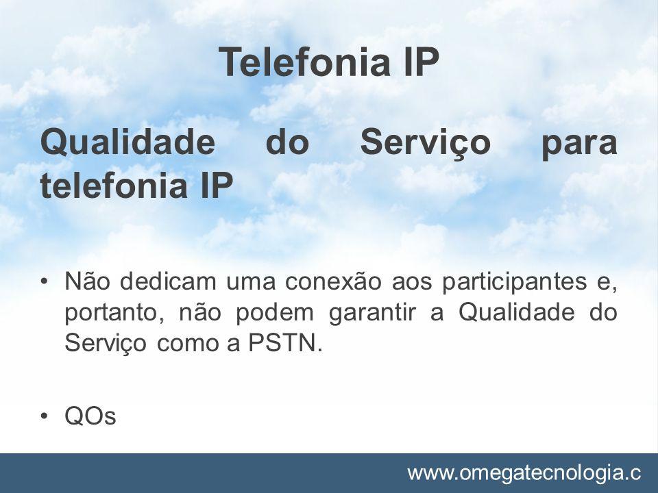 www.omegatecnologia.c om DISCAGENS ABREVIADAS Utilizadas para abreviar um determinado número, possibilitando um acesso rápido em vez de discar um número por completo.