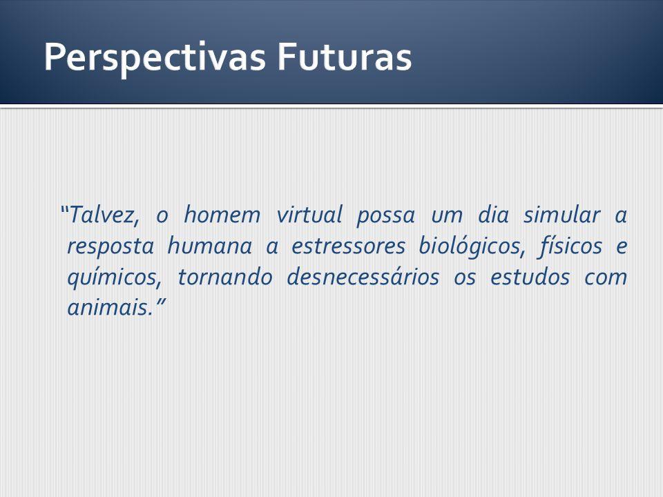 Talvez, o homem virtual possa um dia simular a resposta humana a estressores biológicos, físicos e químicos, tornando desnecessários os estudos com an