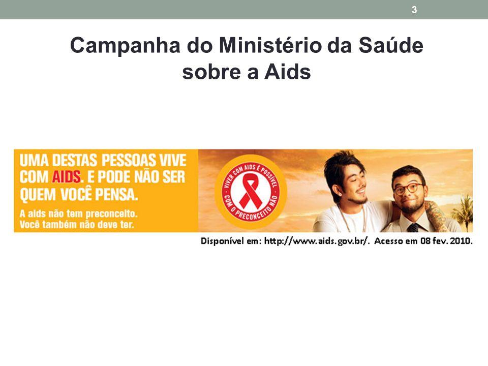 Campanha do Ministério da Saúde sobre a Aids 3
