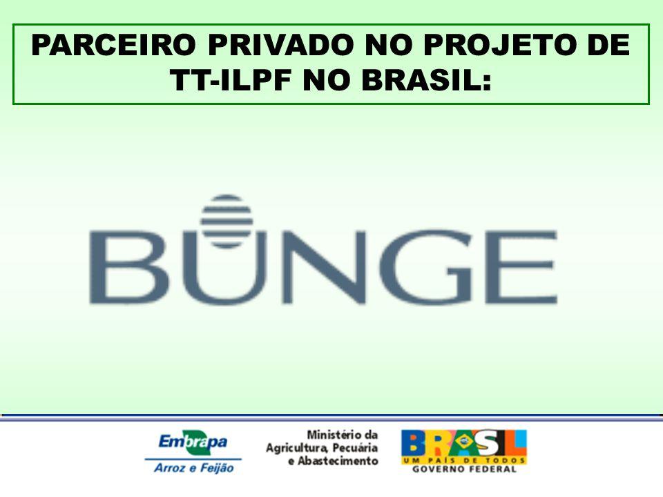 PARCEIRO PRIVADO NO PROJETO DE TT-ILPF NO BRASIL: