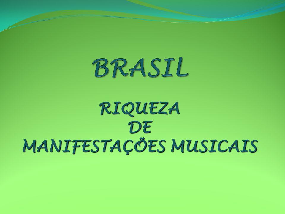 RIQUEZADE MANIFESTAÇÕES MUSICAIS