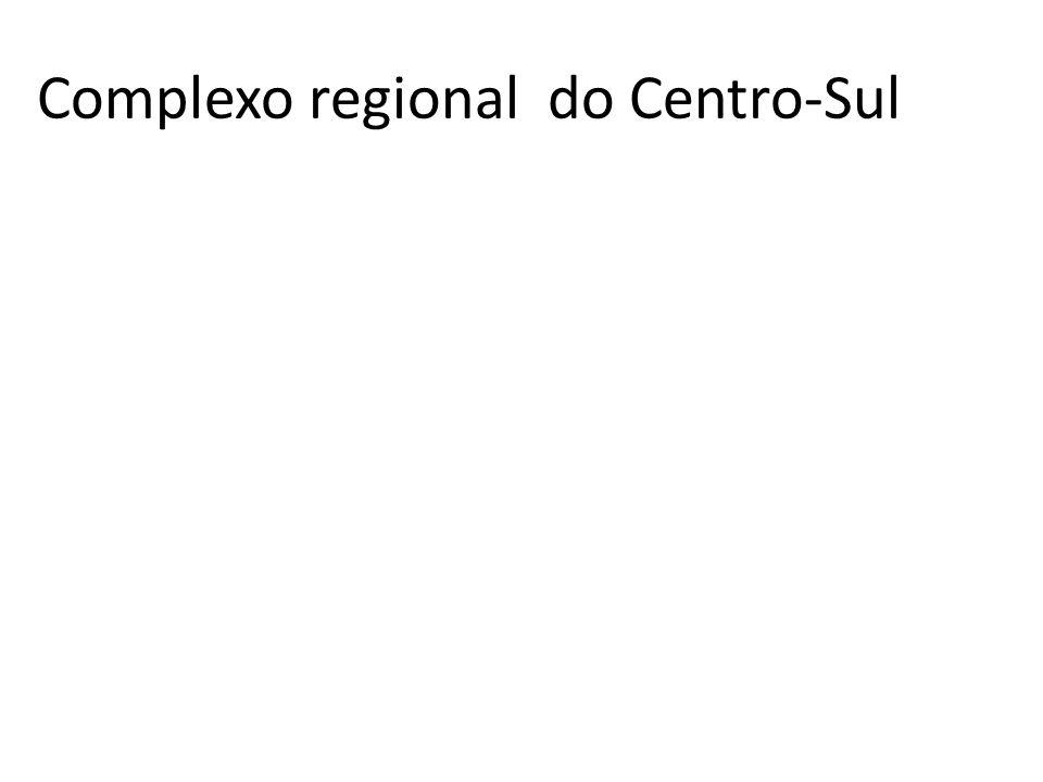 Petróleo no Centro –Sul É no Centro – Sul que se localizam as maiores refinarias de petróleo do Brasil e as principais bacias sedimentares em produção de petróleo.