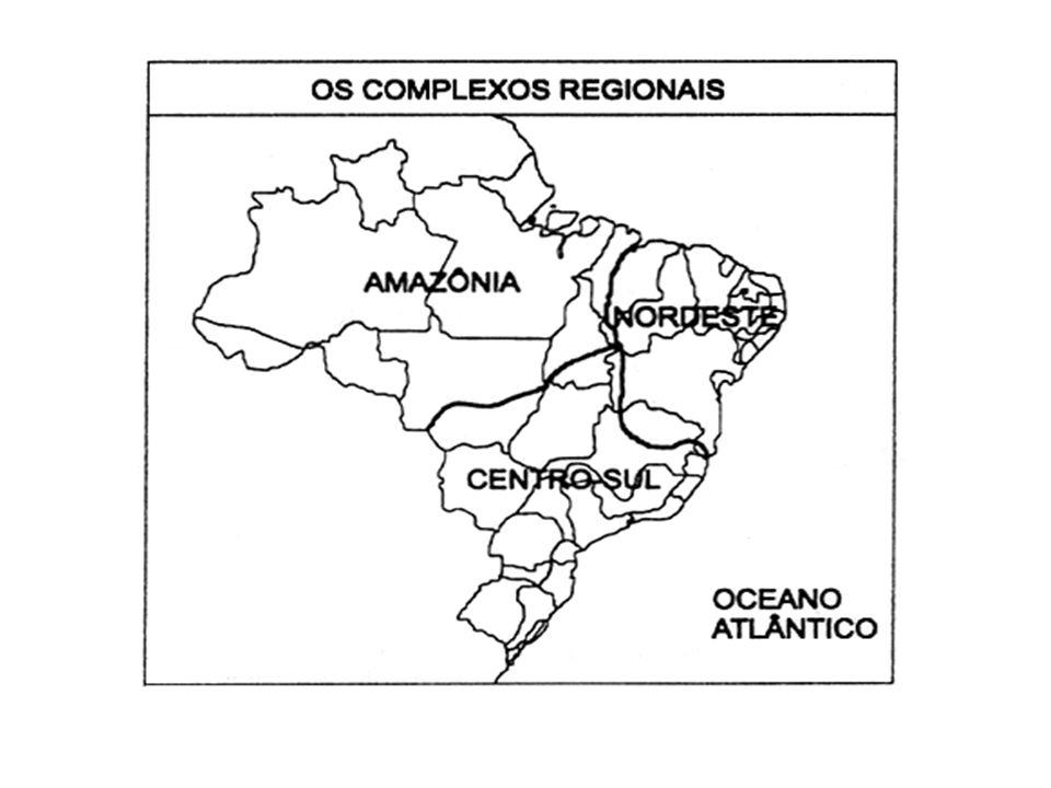 CENTRO-SUL O Centro – Sul é o complexo mais urbanizado e povoado, além de concentrar o maior volume da produção industrial e agrícola do país.