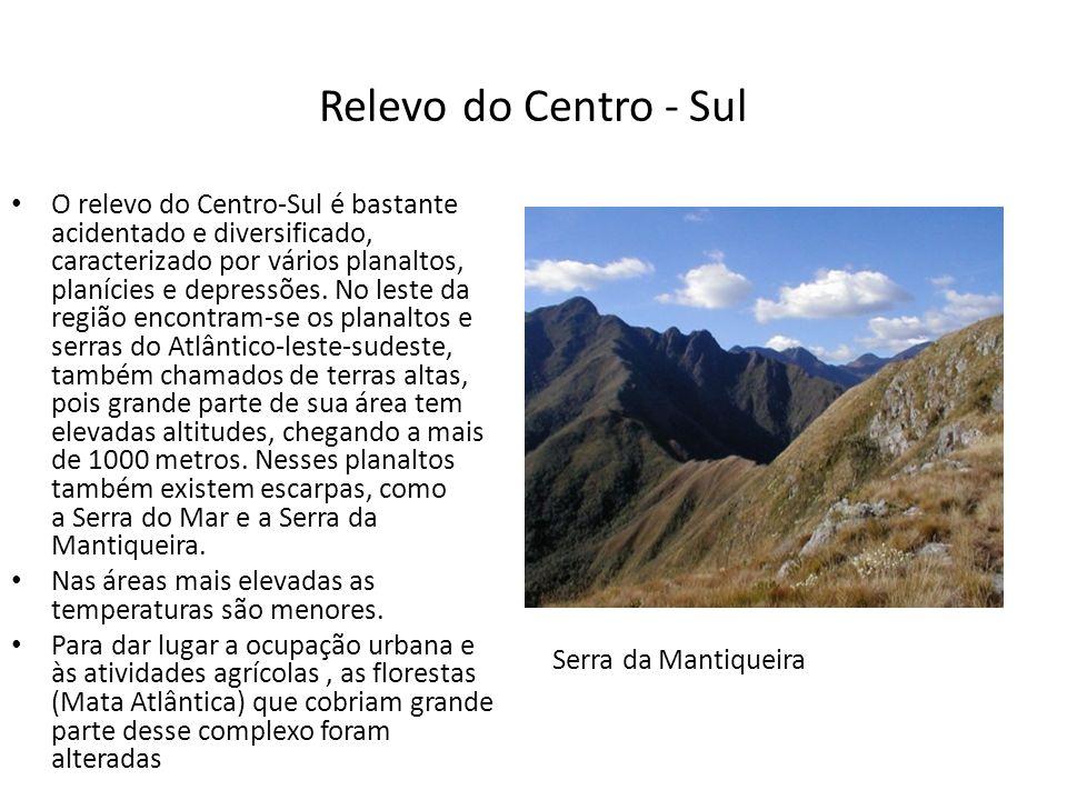 Rede Hidrográfica A região apresenta uma densa rede hidrográfica e o intenso aproveitamento dos rios.