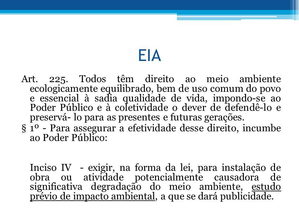 EIA Art.225.
