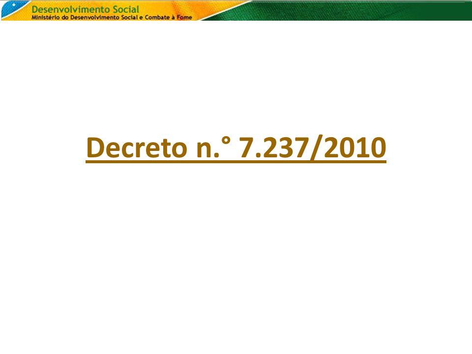 Decreto n.° 7.237/2010