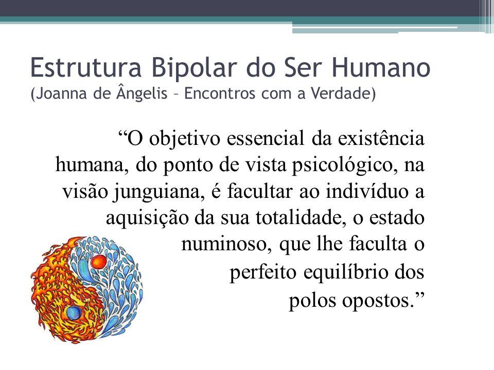 Estrutura Bipolar do Ser Humano (Joanna de Ângelis – Encontros com a Verdade) O objetivo essencial da existência humana, do ponto de vista psicológico