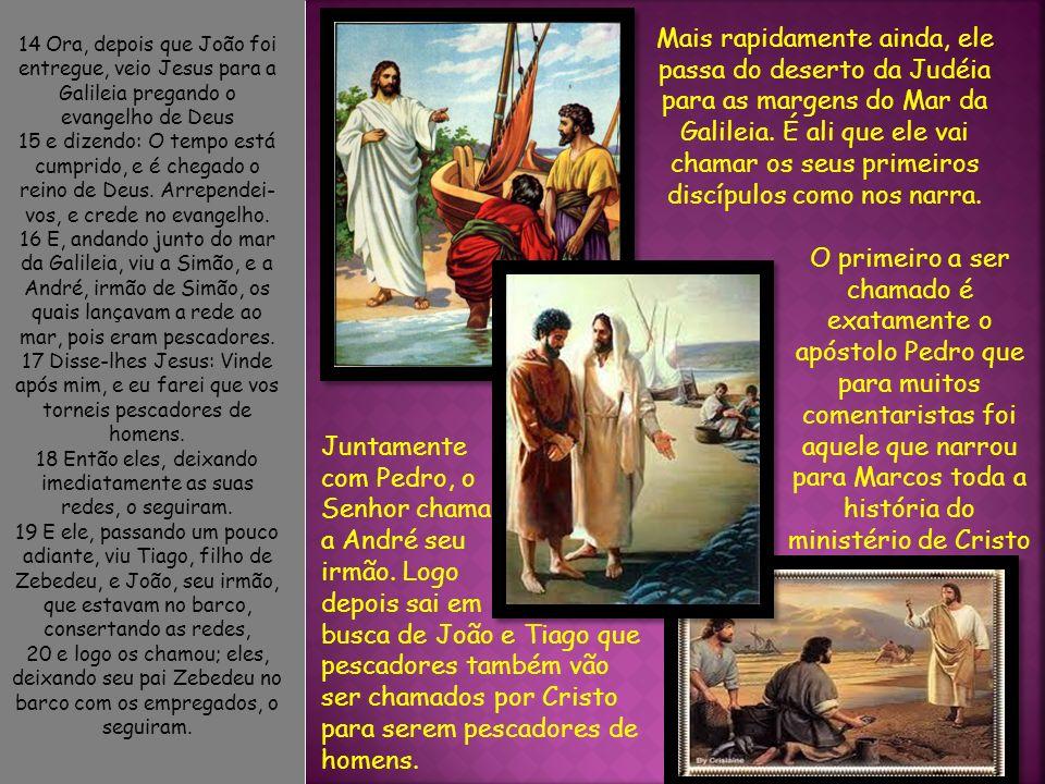 21 Entraram em Cafarnaum; e, logo no sábado, indo ele à sinagoga, pôs-se a ensinar.