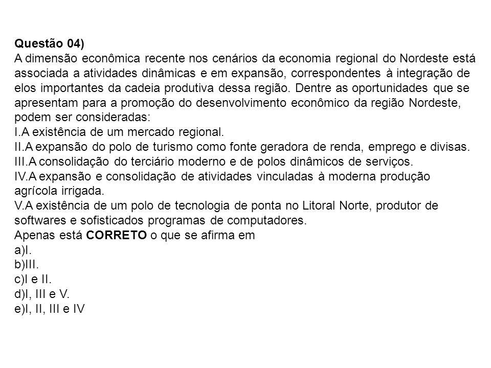 Questão 116) O Brasil em 2020 Será, é claro, um Brasil diferente sob vários aspectos.