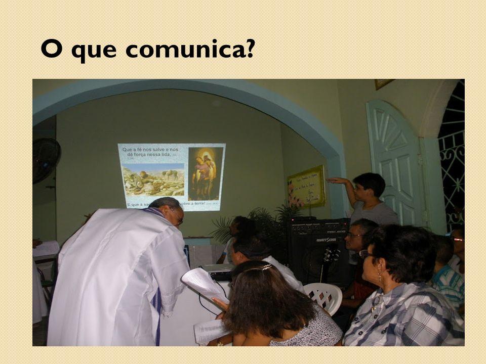 O que comunica?