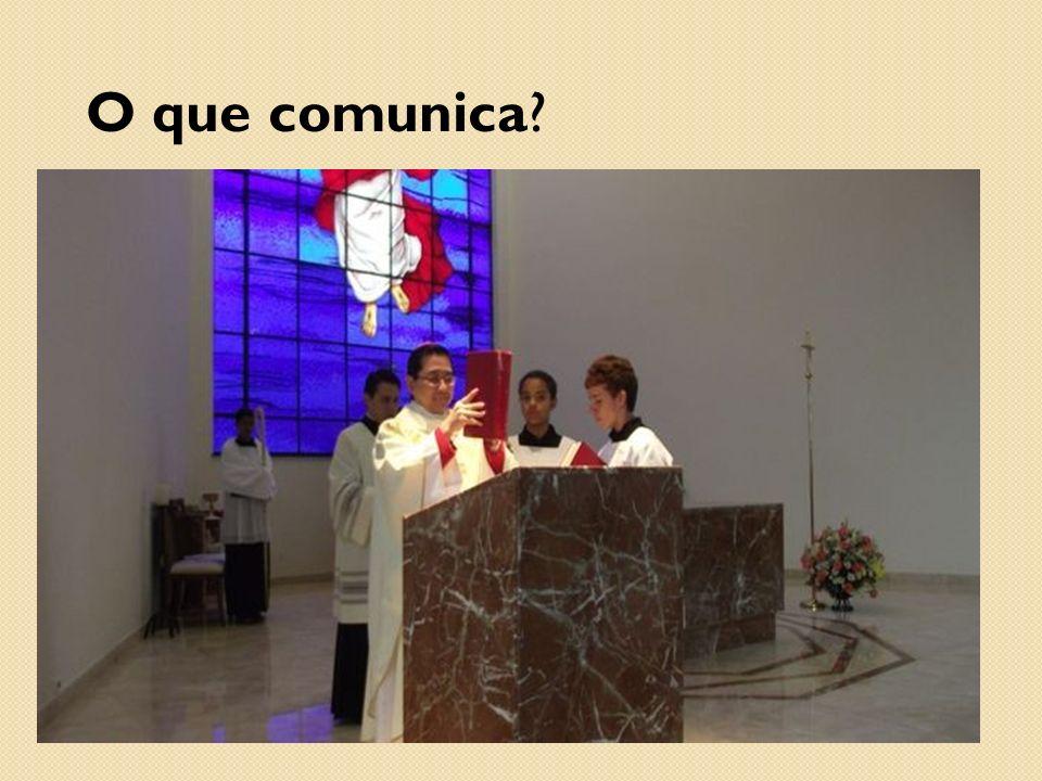 E aí...Como podemos comunicar melhor sem quebrar a liturgia.