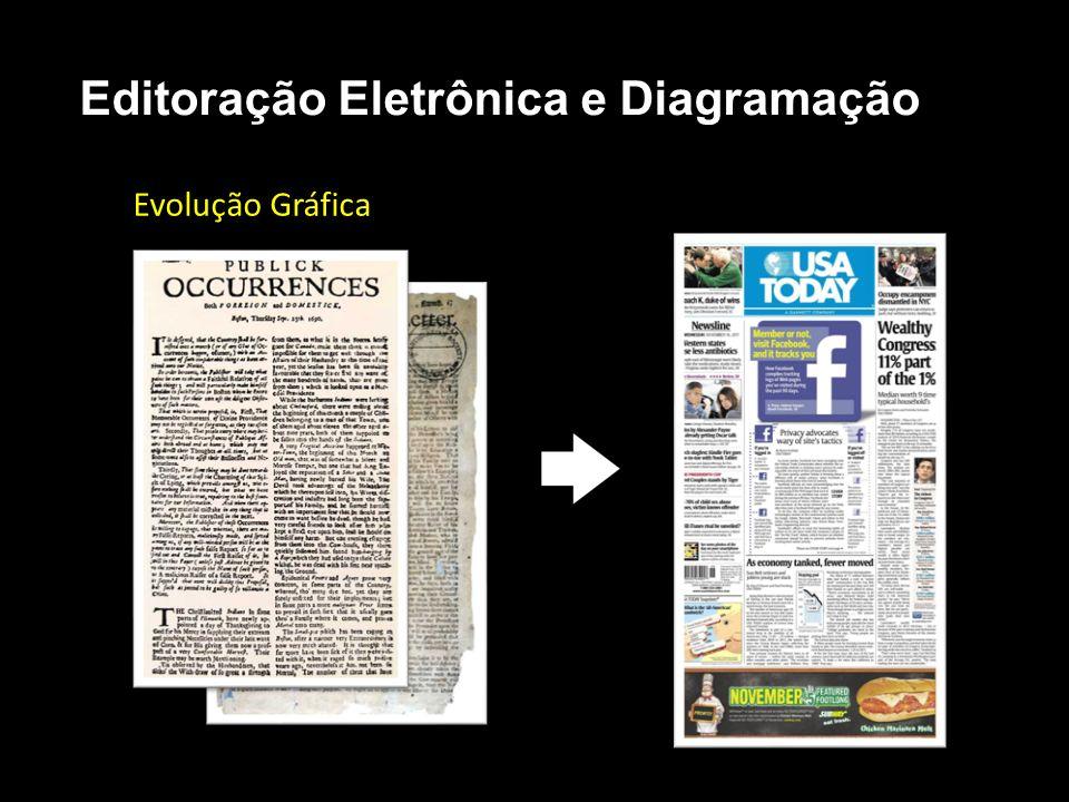 Editoração Eletrônica e Diagramação Evolução Gráfica