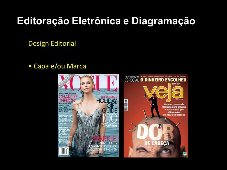 Editoração Eletrônica e Diagramação Design Editorial Capa e/ou Marca
